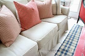 Sofa Design Crate And Barrel Potomac Apartment Sofa Slipcover Best Home