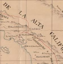 San Bernardino County Map San Bernardino History U0026 Railroad Museum 1800 1849