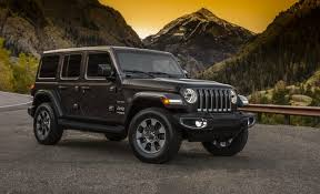 driving a jeep wrangler 2018 jeep wrangler jl the official photos car and