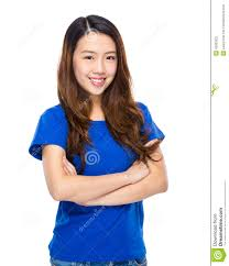 portrait cross arm stock photo image of fold