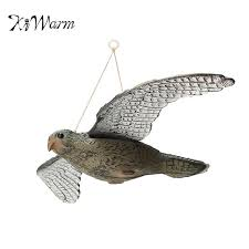 kiwarm flying bird hawk bird decoy garden plant scarer pest