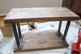 Diy Industrial Furniture by Diy Industrial Style Bookshelf