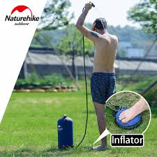 Outdoors Shower - aliexpress com buy naturehike shower water bag portable outdoor