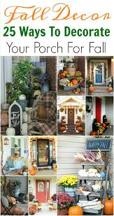 Fall Decorating Ideas For Front Porch - 25 fall porch decorating ideas festive ways to decorate your porch