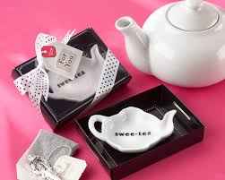 bridal tea party favors tea party favors tea bag holders