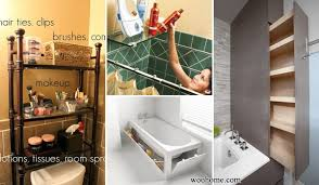 home design hacks 31 amazingly diy small bathroom storage hacks help you store more