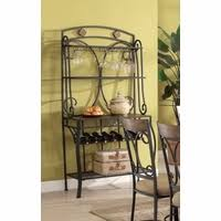 Metal Bakers Rack Baker U0027s Racks Metal Bakers Racks Decorative Bakers Rack