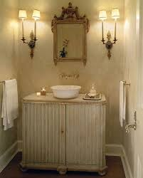 Powder Room Vanity Sink Cabinets - traditional powder room think