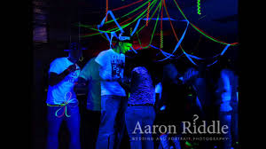 Blacklight Halloween Party Ideas by Black Light Party At Home Ideas Youtube