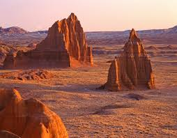 Capitol Reef National Park Map Temples Of The Sun Cathedral Valley Capitol Reef National Park
