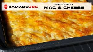 kamado joe chipotle gouda mac and cheese youtube