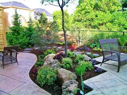 landscape ideas for front yard hillside designs ideas and decor