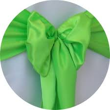green chair covers satin sash lime green chair cover rentals