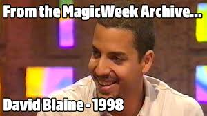 Blaine Meme - david blaine magician so graham norton july 1998 magicweek