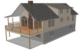 Sloped Lot House Plans Cabin Blueprints Sds Plans