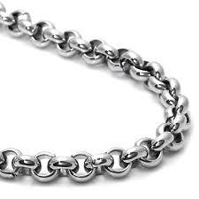 titanium necklace men images Rolo chain necklace clipart jpg