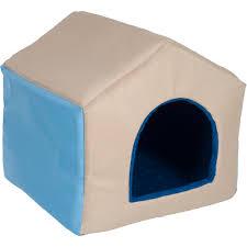Indigo Dog House Igloo Dog Bed Medium Home Beds Decoration