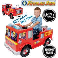 fireman sam 12v jupiter battery powered ride fire engine toys