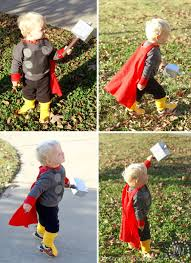 thor costume for toddlers diy captain america u0026 thor costumes the scrap shoppe