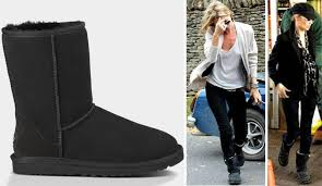 ugg s boots black kate moss favorite boots uggs stylefrizz