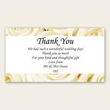 wedding gift note wedding thank you cards amazing wedding gift thank you card
