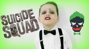 kids halloween clothes squad joker makeup tutorial youtube