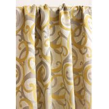Pale Yellow Curtains by Coffee Tables Pale Yellow Sheer Curtains Yellow Patterned