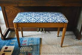 Piano Bench Cushion Pattern Tutorial How To Reupholster A Bench With Rounded Corners The