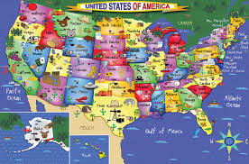 World Map Puzzles by U S Map Floor 48 Piece Puzzle White Mountain Puzzles White