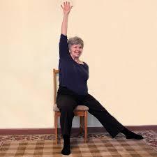 Armchair Aerobics For Elderly Senior Chair Exercise Pictures Lovetoknow