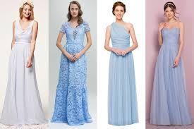 light blue bridesmaid dresses pale blue bridesmaid dresses brides magazine 2017