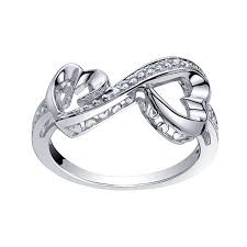 diamond heart ring grows 1 10 ct t w diamond heart ring jcpenney