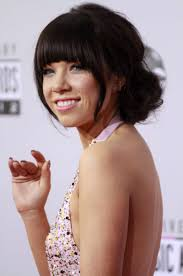 carly rae jepsen hairstyle back carly rae jepsen at american music awards 09 gotceleb