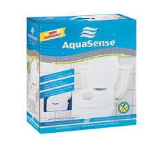 siège toilette surélevé siège de toilette surélevé avec couvercle aquasense équipement