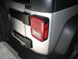 jeep jk led tail light bulb jeep wrangler blacked out j style full led tail lights