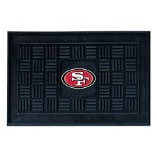 fanmats san francisco 49ers 18 in x 30 in door mat 11454 the