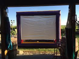 outdoor movie screen carnivals for kids at heart