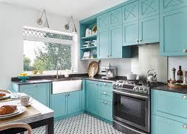duck egg blue kitchen cabinet paint blue kitchen cabinets with black quartz countertops