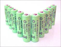 can you use regular batteries in solar lights nimh nickel metal hydride rechargeable batteries are here for
