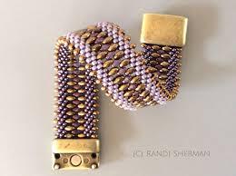 reversible kumihimo cuff bracelet r sherman designs kumihimo