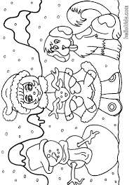 winter coloring pages 2017 dr odd