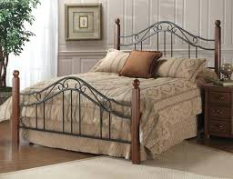 Black Wrought Iron Bed Frame King Size Metal Headboard Large Size Of Furniture Black Wrought