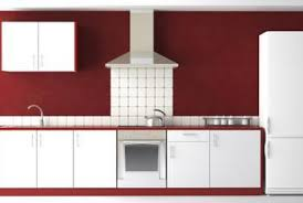 what color cabinets go with burgundy painted walls home guides