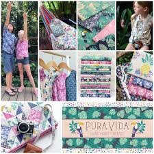 hawthorne threads pura vida fabric collection