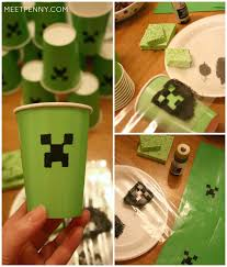 minecraft goody bags epic minecraft birthday party ideas meet