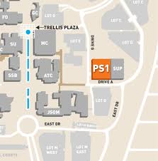 Dallas Map Program by Parking Structure 1 Directions The University Of Texas At Dallas