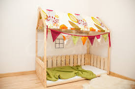 montessori bed crib size house bed children room bed baby kita