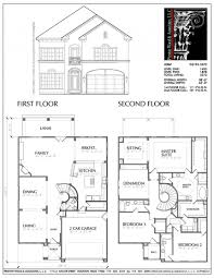 narrow house plans home architecture simple two house plans small narrow lot
