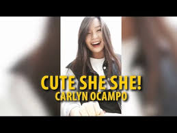she she carlyn cayeen oco cute korean she she song cover youtube
