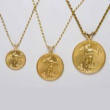 necklace pendant coin images 22k standing liberty coin necklace california collectors jpg